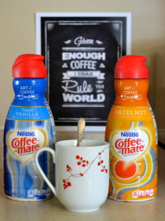 coffee-mate, David Bromstad, #CMInspires