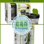 Ball Fresh Herb Keeper and Dry Herb Jar Giveaway #CanItForward