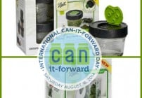Ball Can It Forward, #canitforward, live canning event, International Can It Forward, Ball Dry Herb Jars Fresh Herb Keeper Giveaway