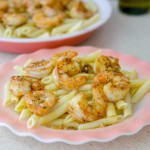 blackened shrimp scampi