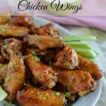 Game Day Honey BBQ Chicken Wings