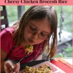 Crock Pot Cheesy Chicken Broccoli Rice | Kids in the Kitchen #BensBeginners