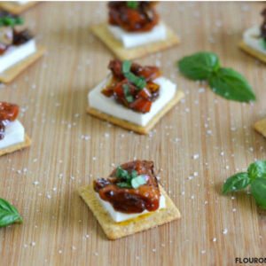 Balsamic Tomato Party Appetizers