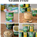 Activia Challenge Giveaway, Activia Yogurt