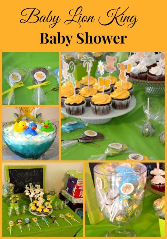 lion king baby shower decorations lion king baby shower flour on my