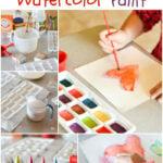 DIY Watercolor Paints