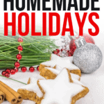 Homemade Holidays ebook, Holiday recipes, holiday recipe cook book, homemade gifts for Christmas