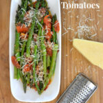 Sauteed Asparagus and Tomatoes #PantryInsiders