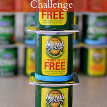 Activia Challenge, yogurt, healthy eating
