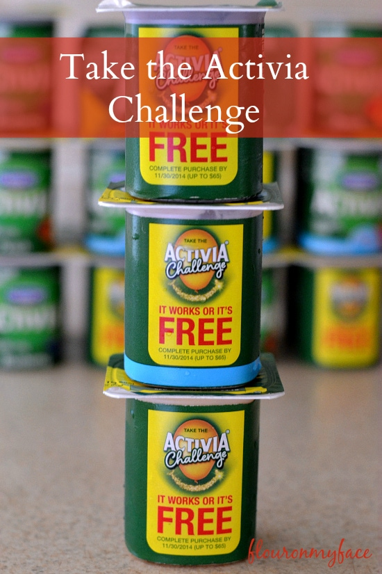 Activia Challenge, yogurt, healthy eating