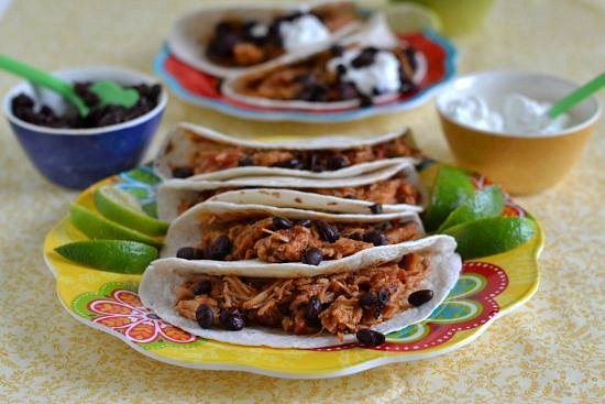 Crock Pot Mexican Pulled Pork Tacos, Smithfield pork, Mexican shredded pork,