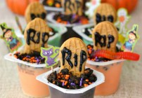 #shop, #SnackPackMixins, Snack Pack Pudding, Halloween pudding treats,