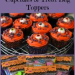 Free Halloween Treat Bag Topper Printable and Cupcakes #Treats4All