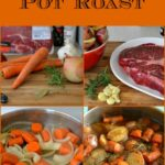 Easy Slow Roasted Pot Roast, Holiday recipes, Holiday Menu Planning, Farberware Cookware