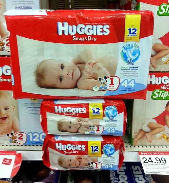 #ad, Huggies Snug & Dry Diapers, Target new subscription program