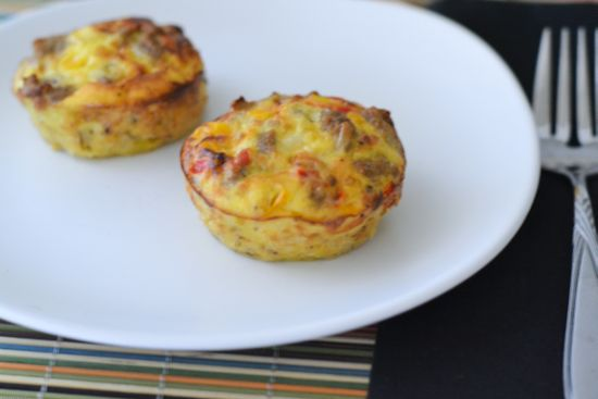 low carb breakfast, low carb muffins, breakfast muffins