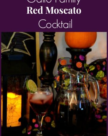 Wine Cocktails, Gallo Moscato wine, Red Moscato cocktail, Gallo Family Wines