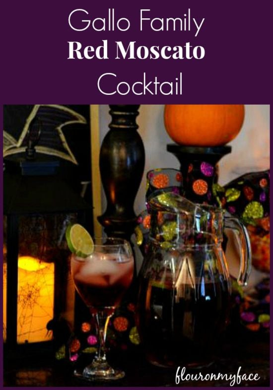 Gallo Family Red Moscato Cocktail #SundaySupper