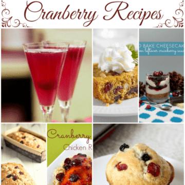 cranberry recipes, cranberries, recipes using cranberries, winter cranberry recipes