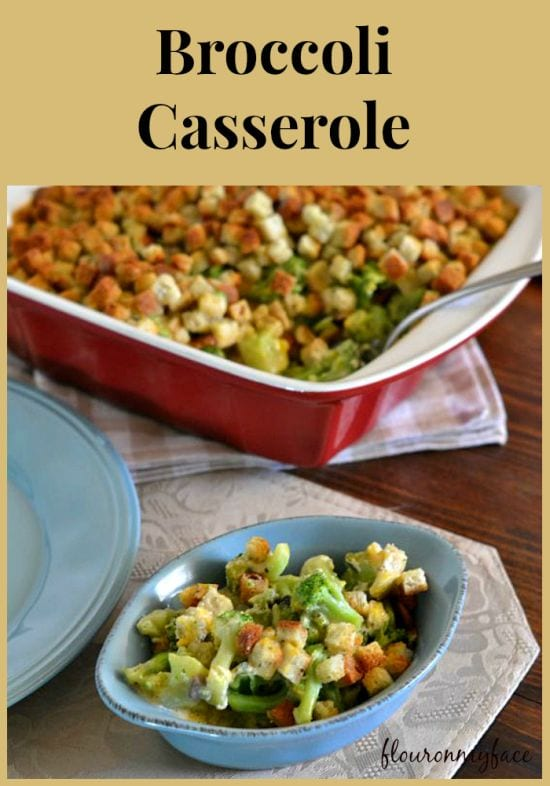 Broccoli Casserole, #HolidayRecipes, Thanksgiving Side Dish, holiday side dish