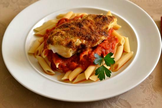 Chicken Parmesan recipe, family dinner recipes, easy family meals