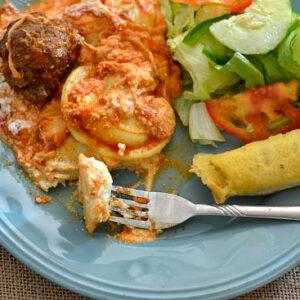 Easy Ragu recipes, #NewTraDish, homemade lasagna, easy family meals