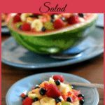Fresh Fruit Pomegranate Salad, Fruit Salad recipe, fresh fruit salad, Progressive Dinner, #HoldayRecipes, Holiday Menu Planning