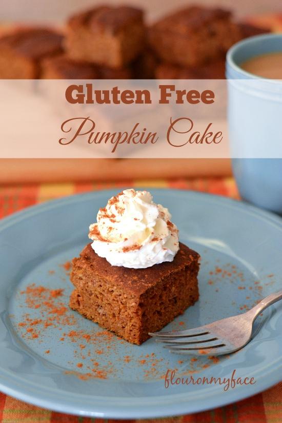 Gluten Free Pumpkin Cake, gluten free pumpkin recipes, Pumpkin Cake recipe
