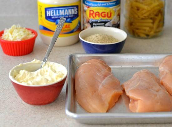 Easy Chicken Parmesan, Easy Family recipes, Unikever recipes, Hellmann's recipes, Ragu recipes