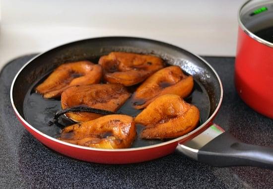 Holiday Pear recipes, #SeasonstoCelebrate, Farberware Cookware