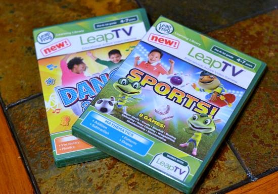 LeapTV Games, New LeapTV