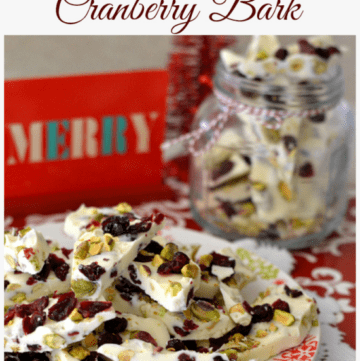 cranberry pistachio bark, christmas candy recipe, easy homemade candy, cranberry recipes, driedcranberry recipes, pistachio recipes, holiday candy recipes, pistachio bark recipe, pistachio cranberry bark recipe