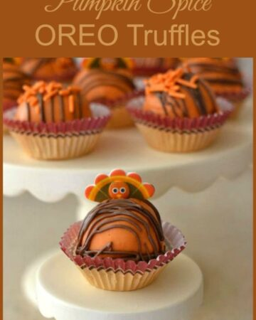 Pumpkin Spice OREO Truffles, #shop,  #OREOCookieBalls , OREO cookie Balls, Oreo's