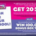 Food Lion® Box Tops for Education™ Bonus $50 Gift Card Giveaway  #FoodLionBoxTops