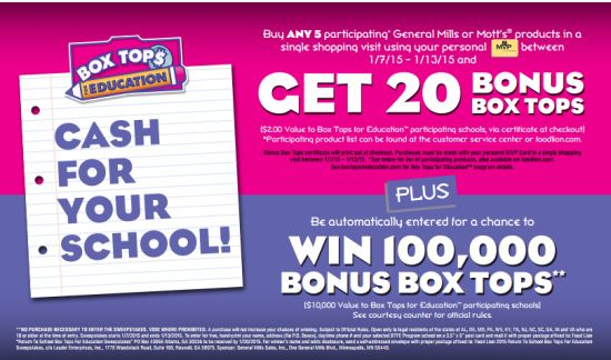 Food Lion $50 Gift Card Giveaway, Box tops 4 Education