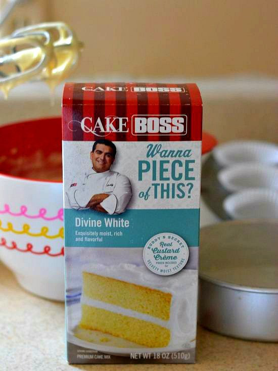 Cake Boss Divine White Cake Mix, #CakeBossParty, best white boxed cake mix
