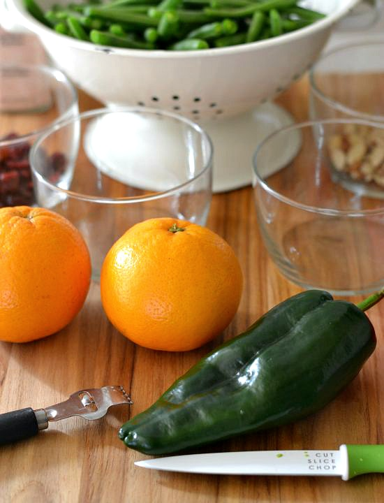 Cranberry, Citrus, Snap beans, recipe ingredients, snap bean recipes, Fresh from Florida