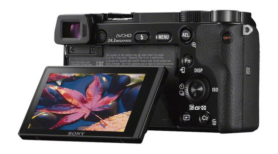 DI multi Sony a6000 back view, Sony cameras at Best Buy, Best Buy gift guide