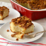 easy yeast recipes, holiday dessert recipes, baking with yeast, apple cinnamon streusel coffee cake