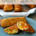 "Back Around the Table: An ""In the Kitchen with David"" Cookbook: Chicken Cheesesteak Egg Rolls"