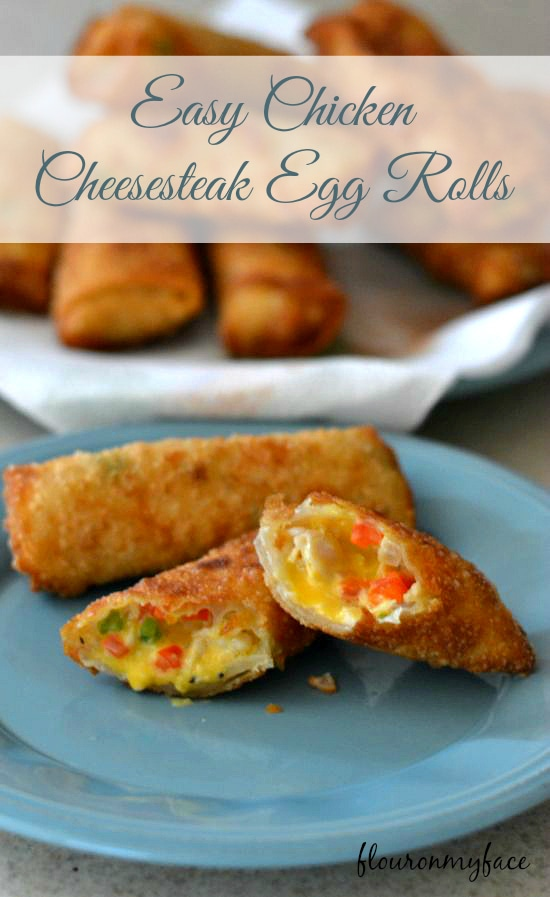 Chicken Cheesesteak Egg Rolls, David Venables cookbook, QVC cookbooks
