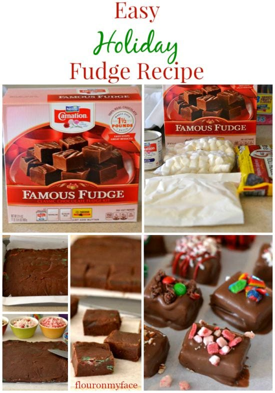 shop, NESTLÉ® CARNATION® Famous Fudge, easy holiday fudge recipe,