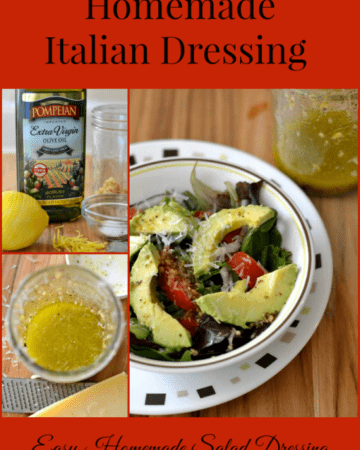 Easy Homemade Italian Dressing, Olive oil, Pompeian