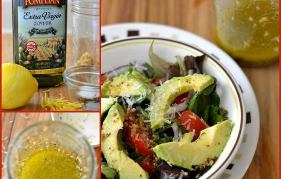 Easy Homemade Italian Dressing, Olive oil, Pompeian
