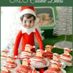 Elf On The Shelf OREO Cookie Balls, Christmas recipes, elf ideas, elf recipes