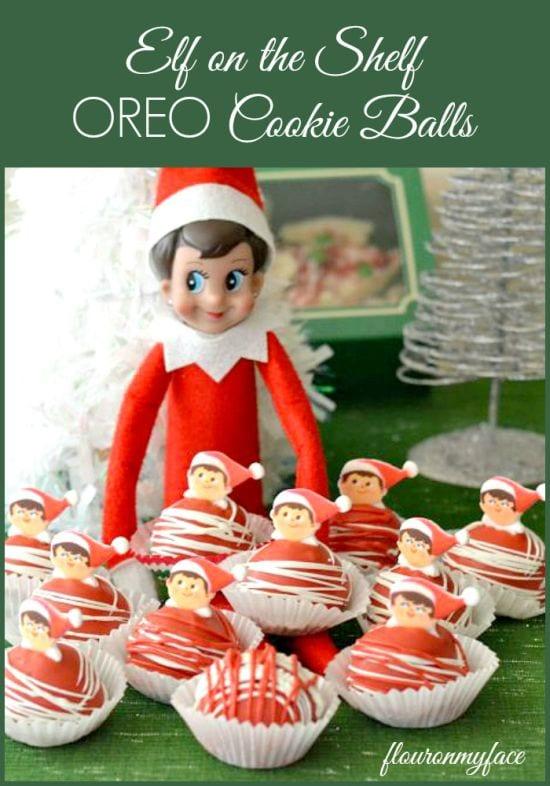 Elf On The Shelf OREO Cookie Balls, Christmas recipes, elf ideas, elf recipes
