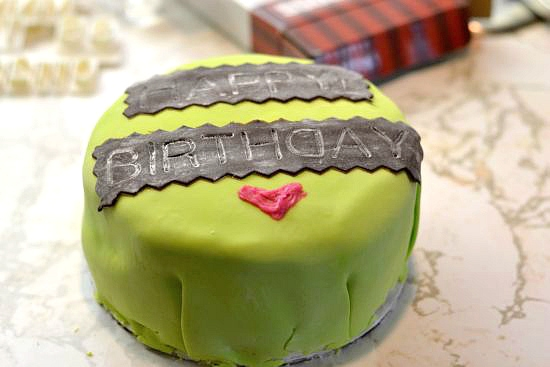 Fondant-cakes