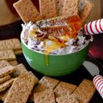 Honey Cranberry Holiday Dip #HoneyForHolidays