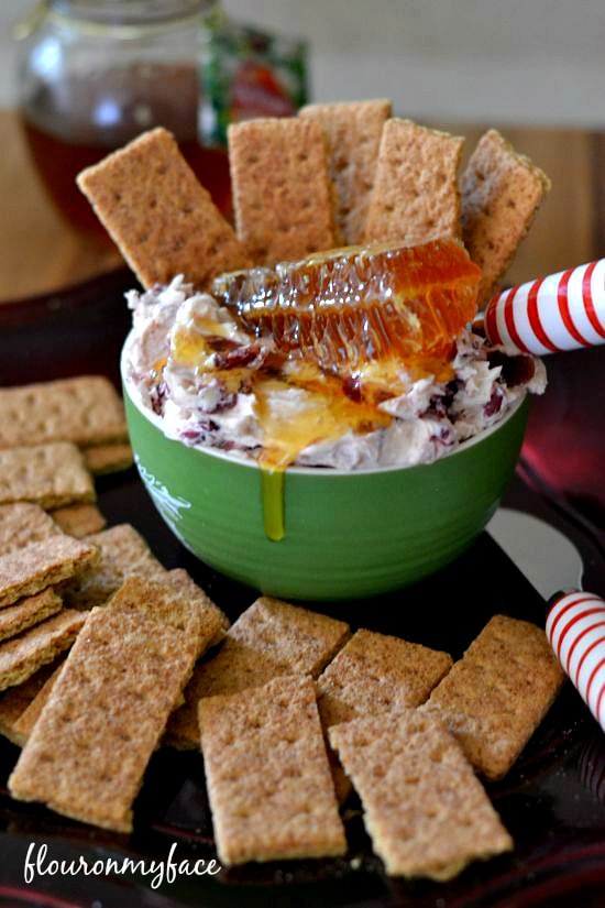 Honey Cranberry Holiday Dip recipe, #shop, holiday dip recipes, Christmas recipes, cranberry recipes, dried cranberries, entertaining