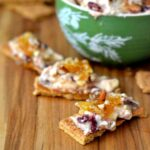 #shop, honey holiday dip, honey cranberry dip, holiday dip recipes, honeycomb, festive holiday dip, entertaining, dip recipes
